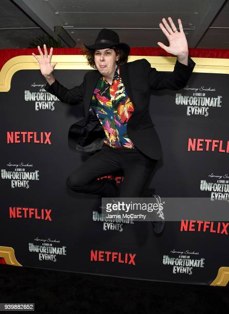 Matty Cardarople attends the 'A Series Of Unfortunate Events' Season 2 Premiere at Metrograph on March 29 2018 in New York City