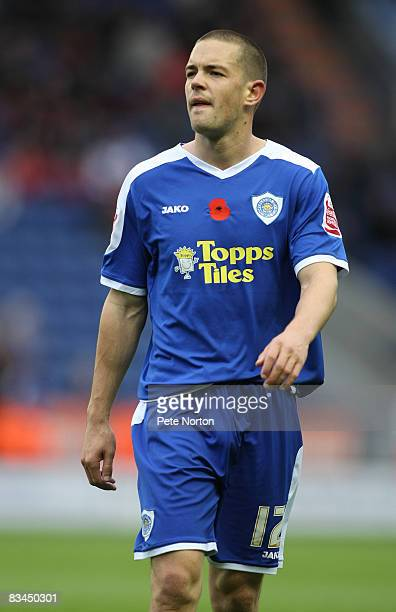 Matty Fryatt of Leicester City in action during the Coca Cola League One Match between Leicester City and Northampton Town at the Walkers Stadium on...