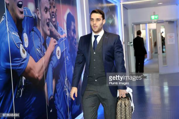 Matty James during the Premier League match between Leicester City and Stoke City at King Power Stadium on February 24th 2018 in Leicester United...