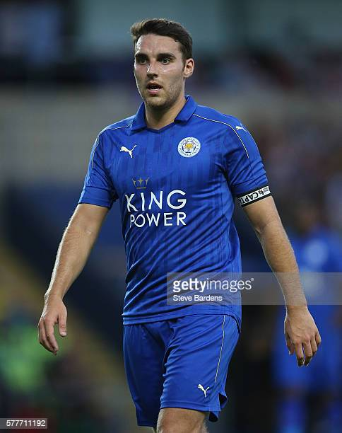 Matty James of Leicester City during a preseason friendly between Oxford United and Leicester City at Kassam Stadium on July 19 2016 in Oxford England