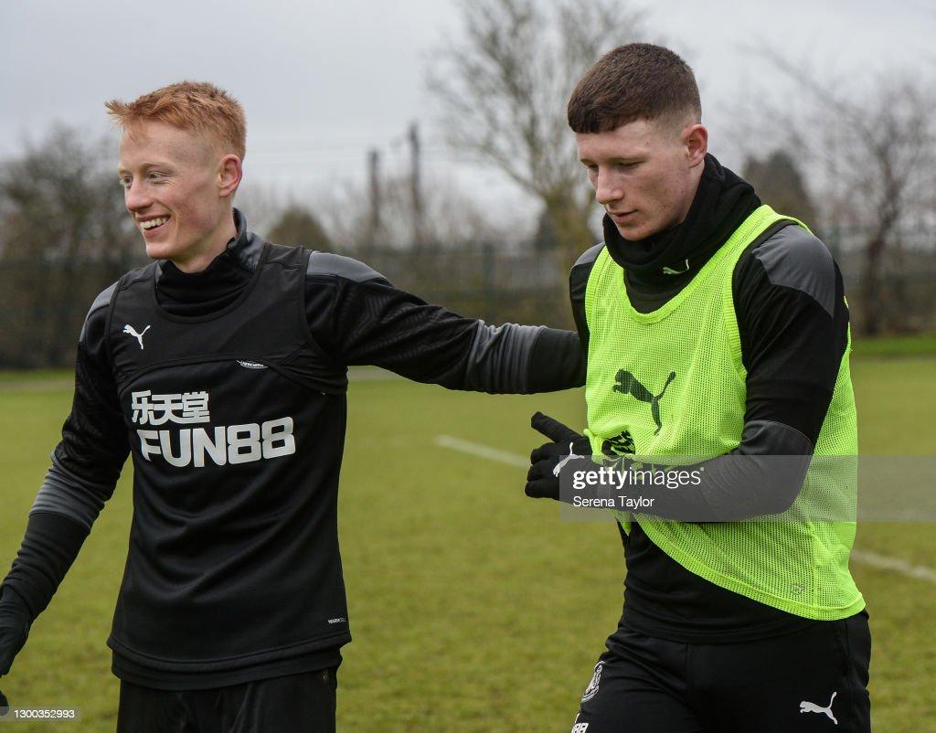 Newcastle United Training Session : Foto jornalística
