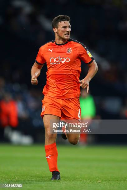 Matty Pearson of Luton Town during the Carabao Cup First Round match between West Bromwich Albion and Luton Town at The Hawthorns on August 14 2018...
