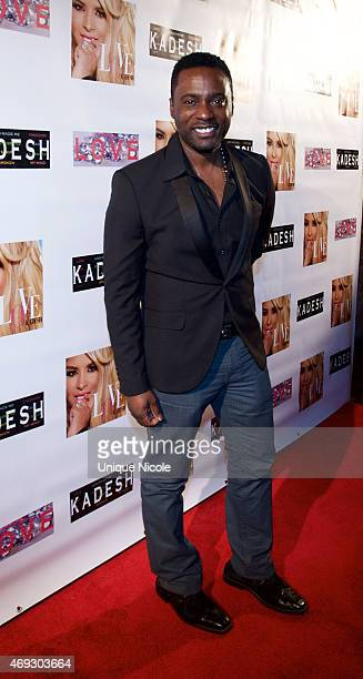 Matty Rich attends the Private Listening Party For Kadesh aka Desiree Coleman Jackson Hosted By ESPN Sports Analyst Mark Jackson at HOME on April 10...