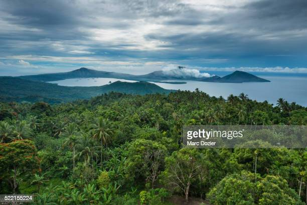 matupit island volcanoes - papua new guinea stock pictures, royalty-free photos & images