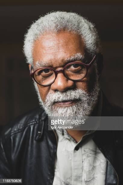 mature african american man in glasses-photo of head - pardo brazilian stock pictures, royalty-free photos & images