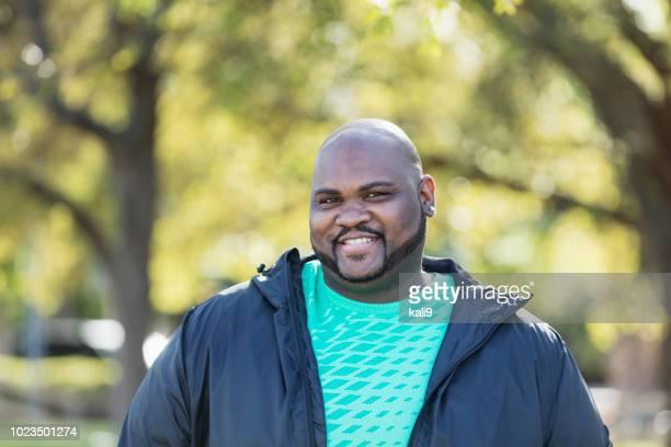 Mature African-American man