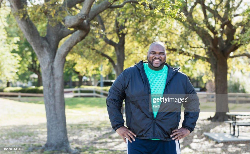 成熟したアフリカ系アメリカ人の男 : ストックフォト