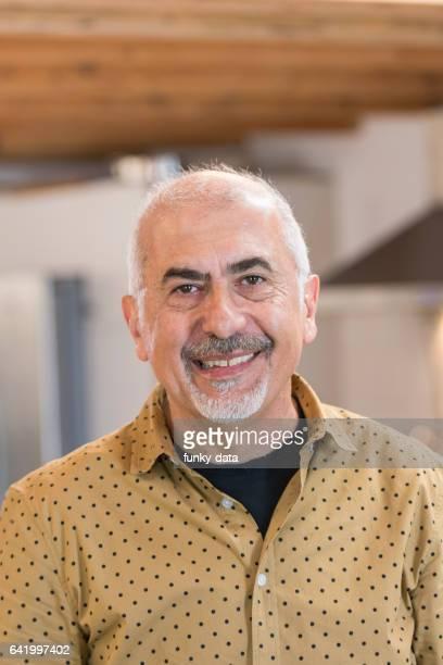 Mature Armenian American man portrait