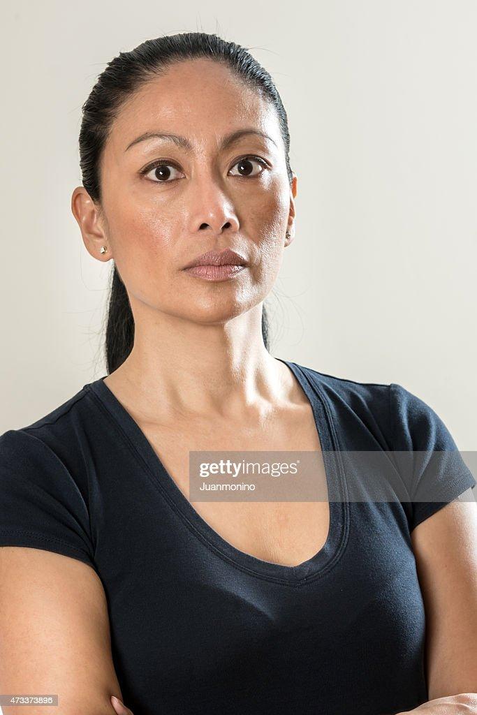 Asian mature wemon