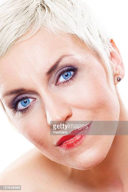 mature beauty - vladgans or gansovsky stock pictures, royalty-free photos & images