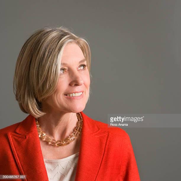 Mature business woman, close-up