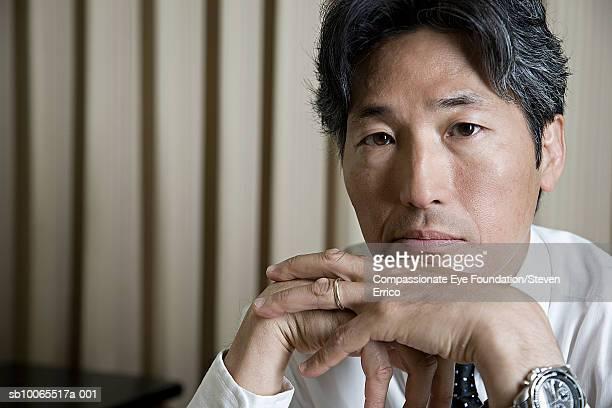Mature businessman, portrait, close-up