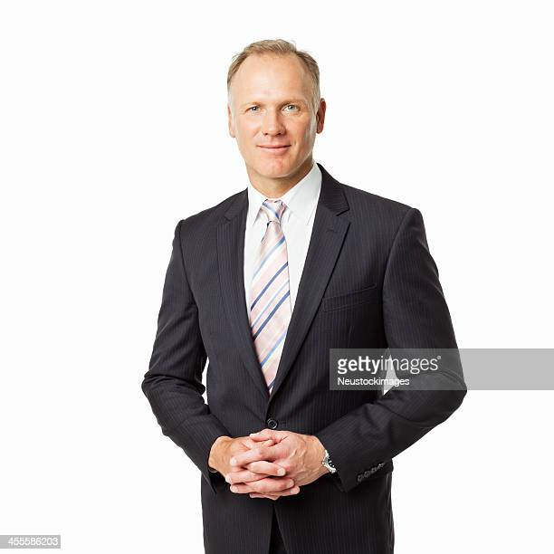 Mature Businessman Portrait - Isolated
