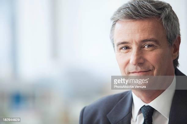 Mature businessman, portrait