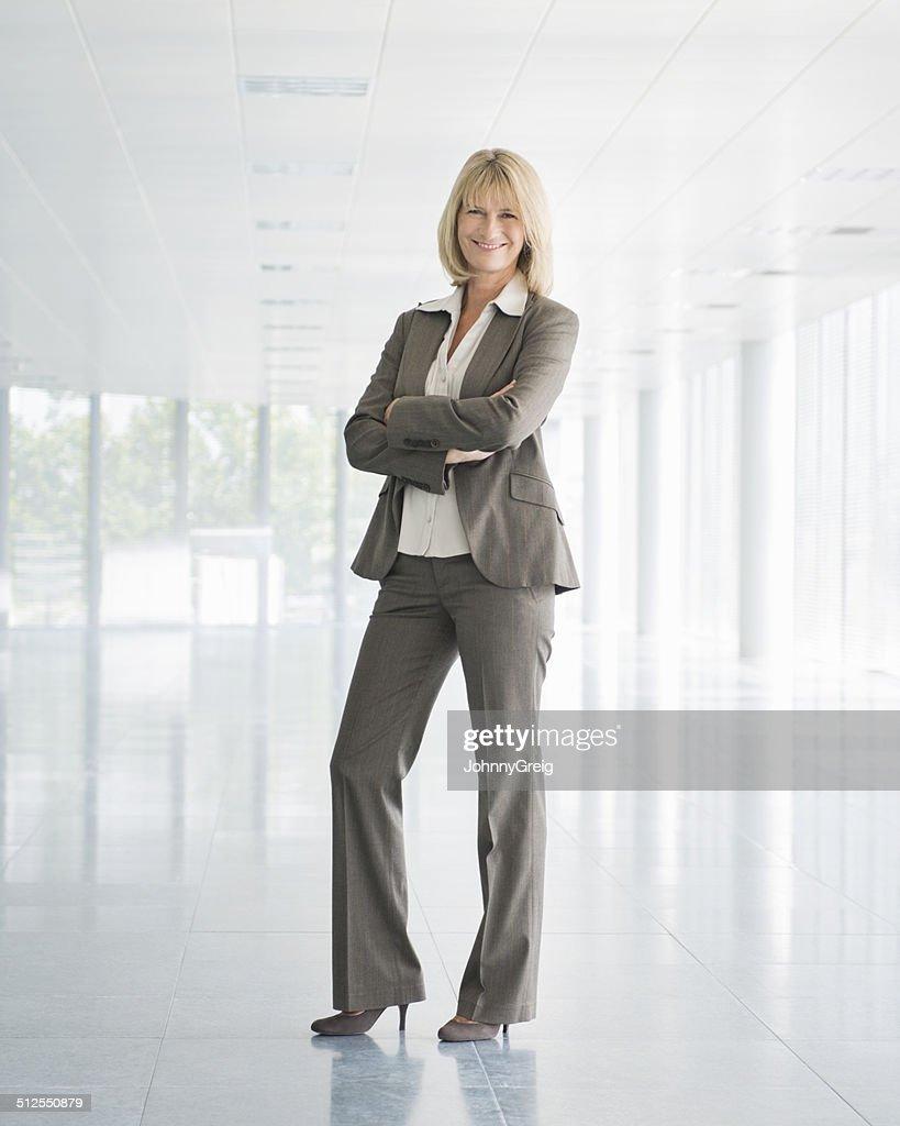 Mature Businesswoman - Full Length : Stock Photo