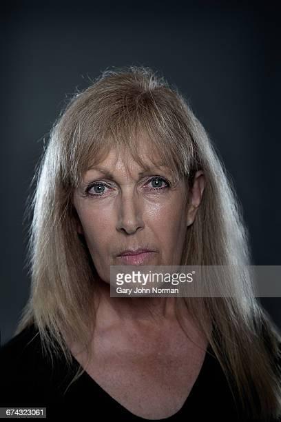 Mature caucasian woman, headshot