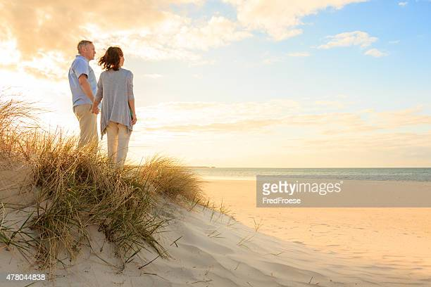 Mature couple at beach