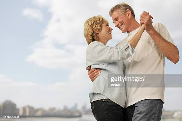 Mature Couple Dancing