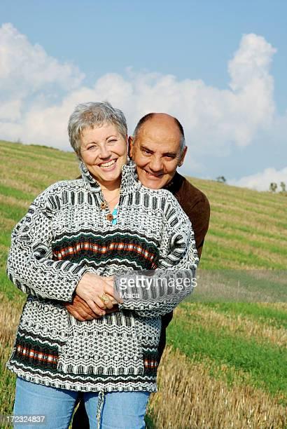 Mature couple happiness