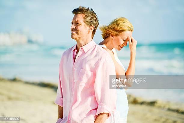 Mature Couple Having Difficult Relationship