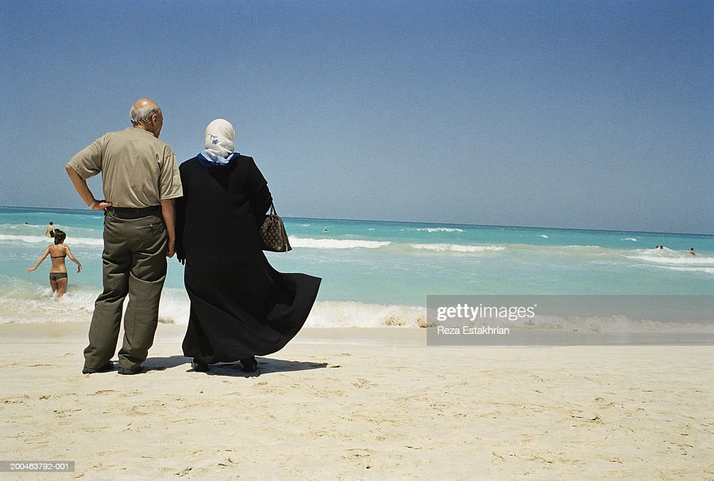 Arab mature couple