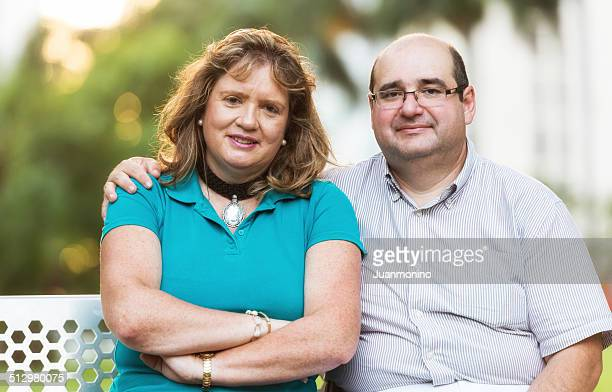 mature couple - real wife sharing stock photos and pictures