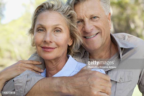 Mature couple, portrait