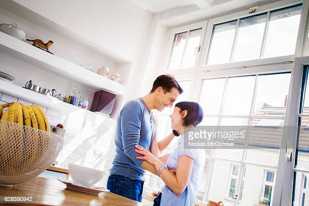 Mature couple rejoices at their good fortune