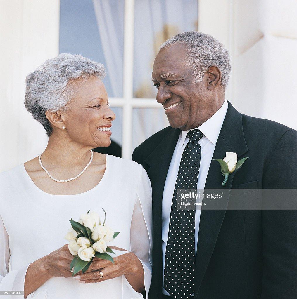 Matures wedding day