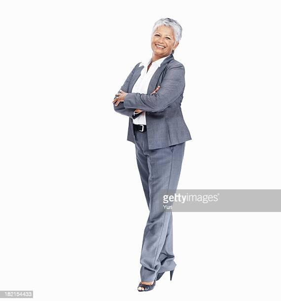 Mature female executive