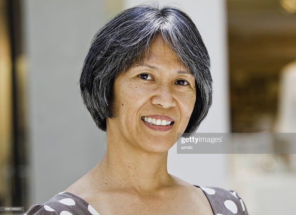 Filipino Woman Stock Photo 82