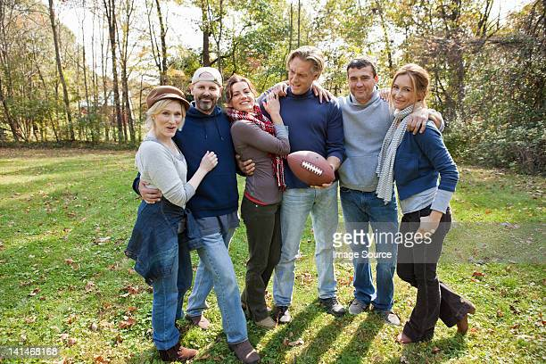 Amis d'âge mûr de football
