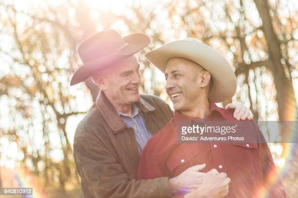 Gay cowboy image