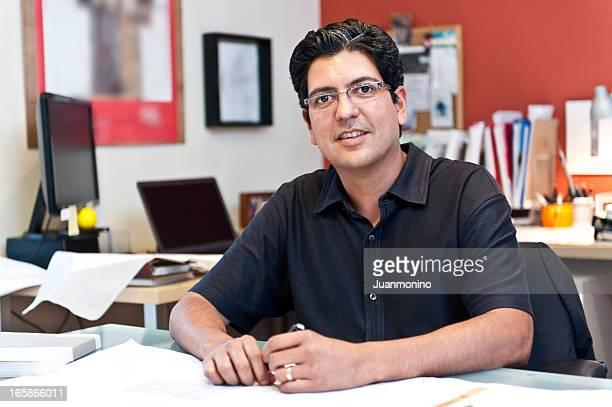 Mature Hispanic Business Man