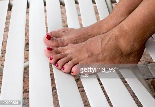Mature Womans Feet 70