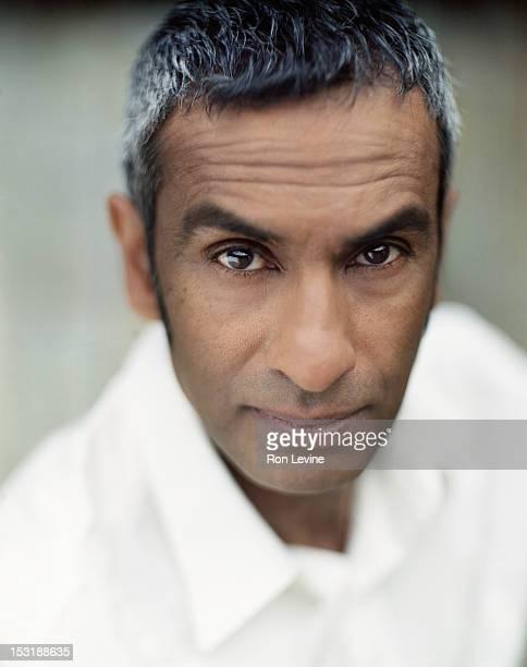 Mature Indian man, portrait