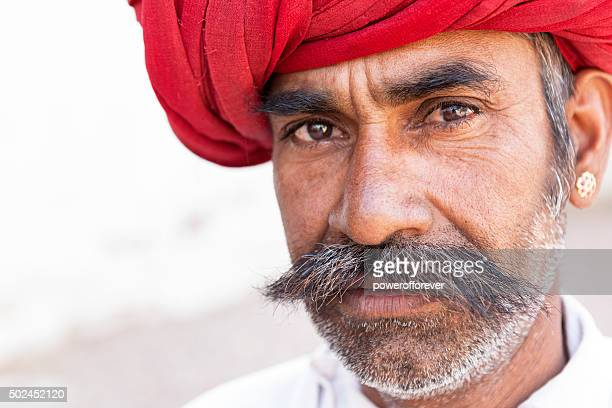 Mature Indian Man Portrait