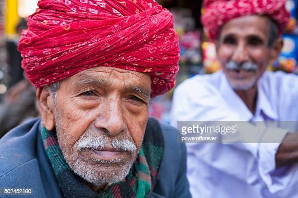Mature Indian Man Portrait