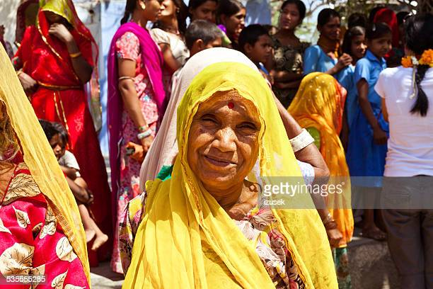 mature indian woman wearing traditional clothes - izusek stock photos and pictures