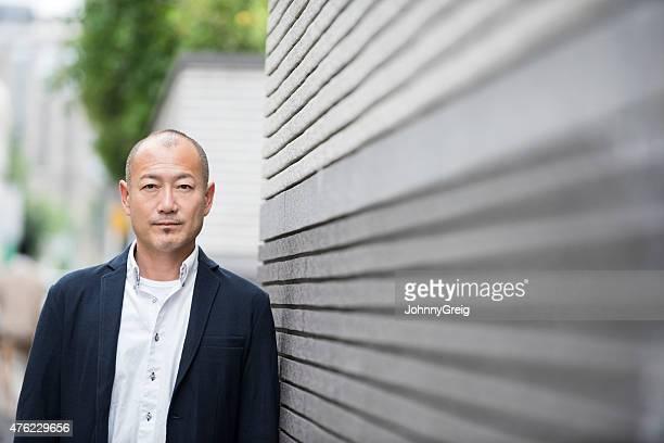 Mature Japanese man portrait