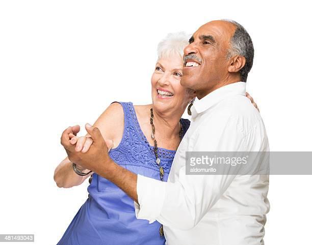 Mature latin couple having fun
