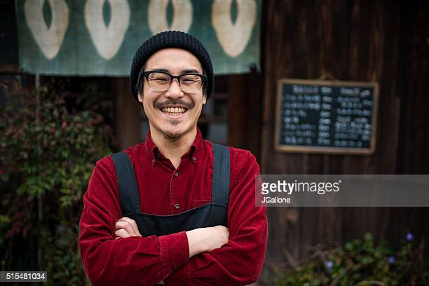 mature male barista - catering building stock pictures, royalty-free photos & images