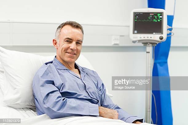 Mature male patient