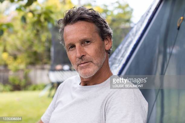 mature male portrait - 40 49 years stock pictures, royalty-free photos & images