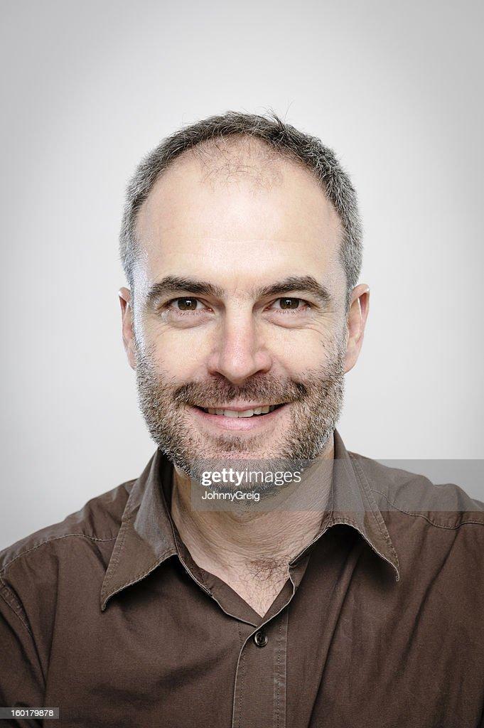 Mature Man - Character Portrait : Stock Photo
