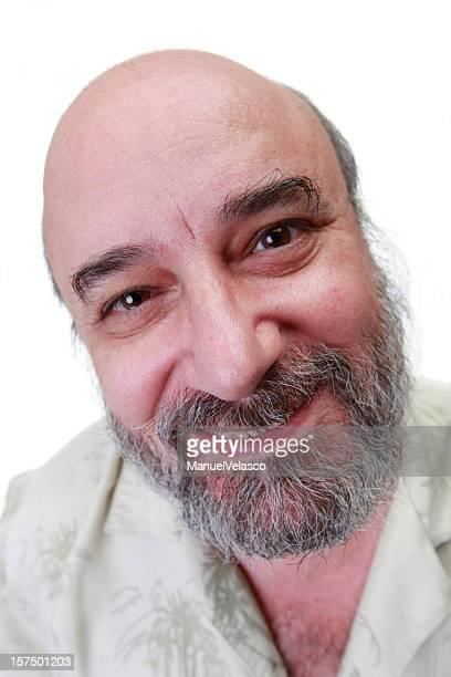 hombre maduro de caricatura de retratos - manuel velasco fotografías e imágenes de stock