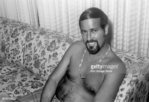 Mature man portrait, ca. 1971.