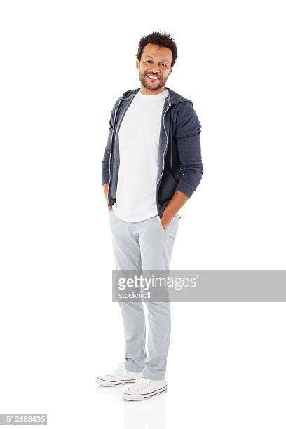 Mature man posing in casuals