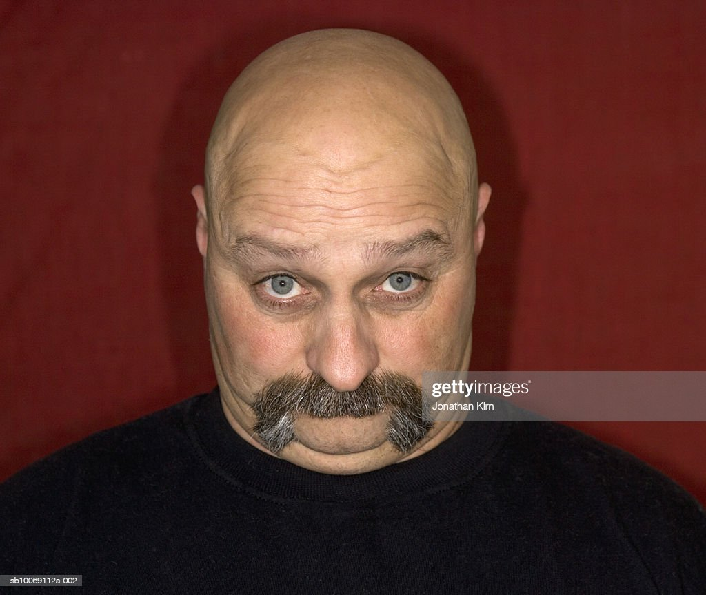 Mature man pulling funny faces, portrait : Stockfoto