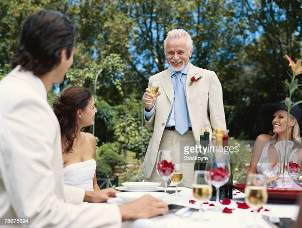 Wedding Reception Toast Stock Photos And Pictures Getty Images